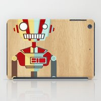 robot iPad Cases featuring Robot by LindseyCowley