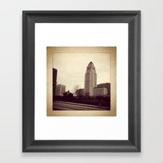 old LA Framed Art Print