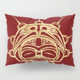 Golden Frog Blood Pillow Sham