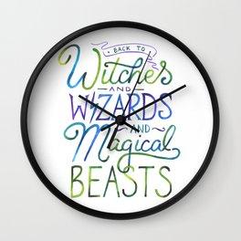 AVPM - Back To Hogwarts Wall Clock