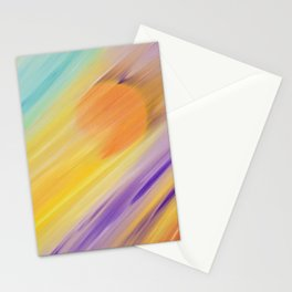 """Catch the Sun #1 – Sequel #1"" Oil Painting Stationery Cards"
