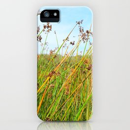 flowers in daylight iPhone Case