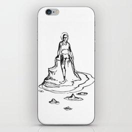 Bather iPhone Skin