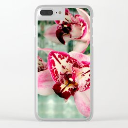 It's Threelip Time Clear iPhone Case