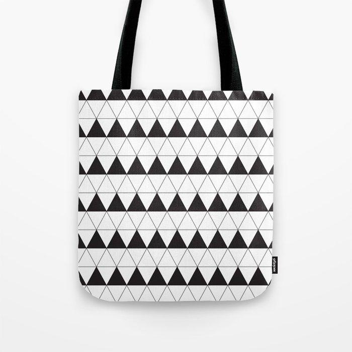a8ddfc6ba4 Bold Geometric Triangle Print Tote Bag by thejoynerbrand