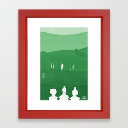 Avatar - Earth Book Framed Art Print