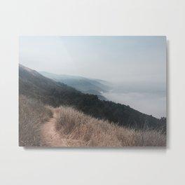 Big Sur Misty Shores Metal Print
