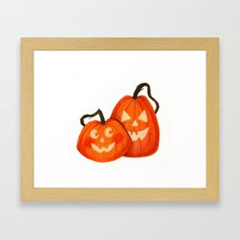Jack O Lanterns Framed Art Print