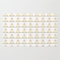 chicken Area & Throw Rugs featuring CHICKEN by Ana Depuntillas