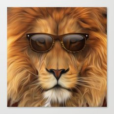 'king Cool MkII Canvas Print