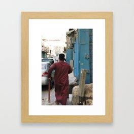 In A Hurry! Framed Art Print