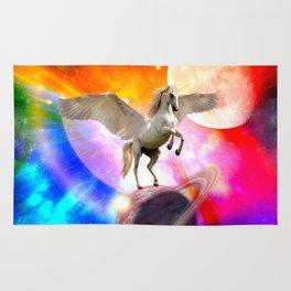 space unicorn. Rug