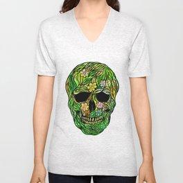 Skull Nature Unisex V-Neck
