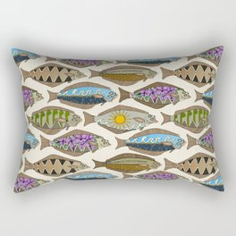 Alaskan halibut pearl Rectangular Pillow