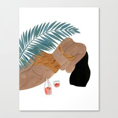 Swimware Canvas Print