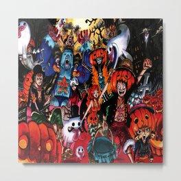 halloween one piece Metal Print