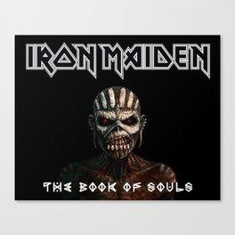 iron maiden tour2017 ty Canvas Print