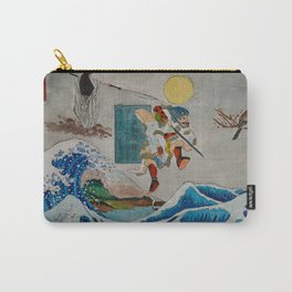 Tadatsune's Journey to Mount Fuji Carry-All Pouch