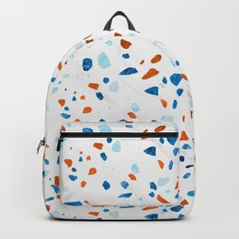 Abstract Terrazzo Pattern Backpack
