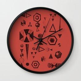 LEO GEO Wall Clock