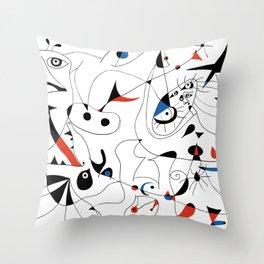 Joan Mirò #5 Throw Pillow