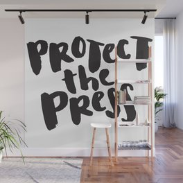 Protect the Press Wall Mural