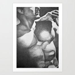 Modern David Art Print