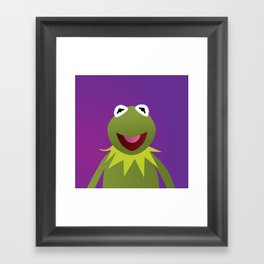 Kermit - Muppets Collection Framed Art Print