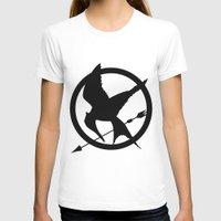 mockingjay T-shirts featuring Mockingjay by Jessica Wray