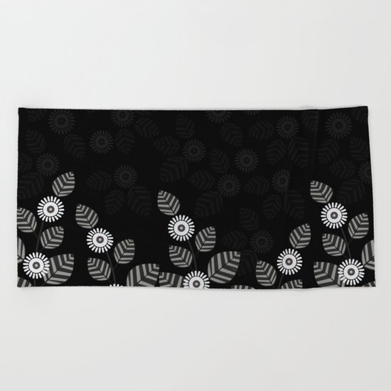Pattern M Beach Towel