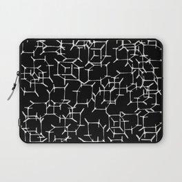 Cube Skeletons In Space Laptop Sleeve