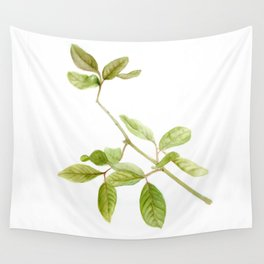 A branch of the tree Psidium fortium Wall Tapestry