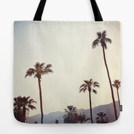 Palm Trees in the Desert Tote Bag