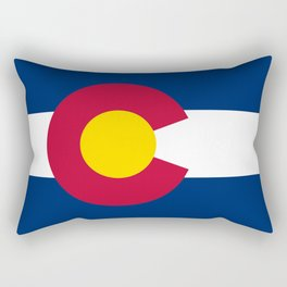 Colorado State Flag Rectangular Pillow