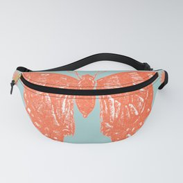 Star Anise Butterfly  Fanny Pack