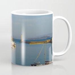 Dusk In The Port Coffee Mug