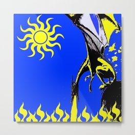 The Day of the Dragon Metal Print