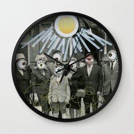 The Eyes Family Wall Clock