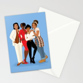Living Single / Khadijah, Max, Regine & Synclaire Stationery Cards