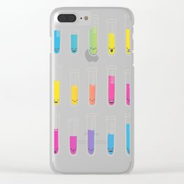 The color solution Clear iPhone Case