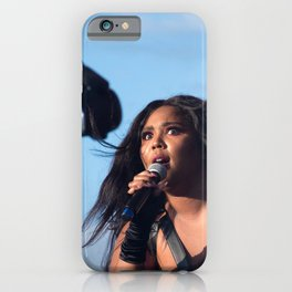 Lizzo performing at Music Tastes Good Festival iPhone Case