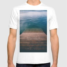 The invite White Mens Fitted Tee MEDIUM