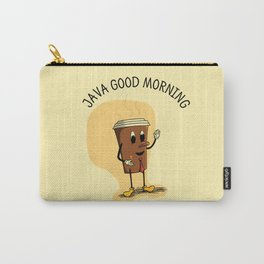 Java Good Morning - Coffee (Earth 1084) Carry-All Pouch