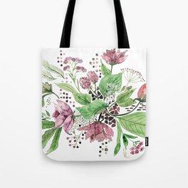 Floral festival Tote Bag