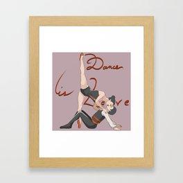 Dance is Love Framed Art Print