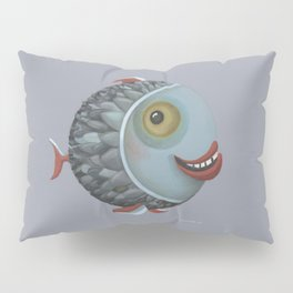 Pisces (grey) Pillow Sham