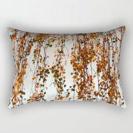 Rain leaves Rectangular Pillow