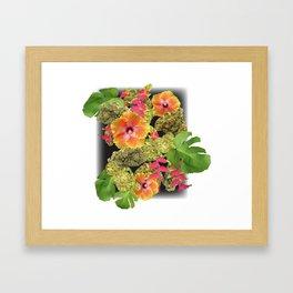 Tropical Kush Framed Art Print