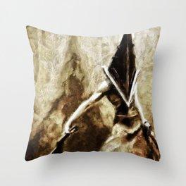 Silent Hill Pyramid Head Throw Pillow