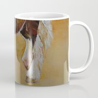 pony Mugs featuring Gypsy Pony by Michael Creese